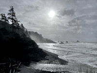 Indian Beach at Ecola State Park
