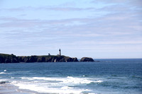 Yaquina Head Lighthouse and coast