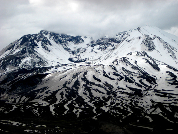 Mount Saint Helens Touttle Washington volcano snow